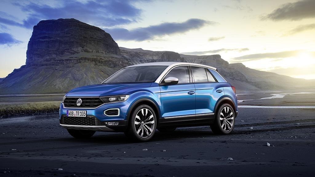 VW blau