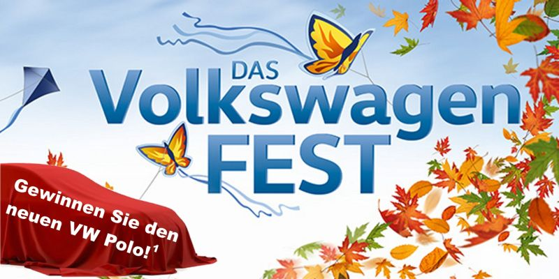 Das Volkswagen-Fest am 30.09.2017